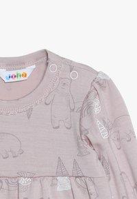 Joha - DRESS A-SHAPE - Jersey dress - light pink - 4