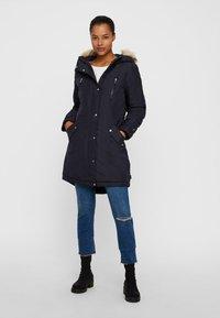Vero Moda - VMTRACK EXPEDITION - Winter coat - dark blue - 1