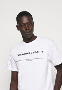 The Kooples - Triko s potiskem - white - 3
