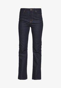 FIONA - Bootcut jeans - dark blue