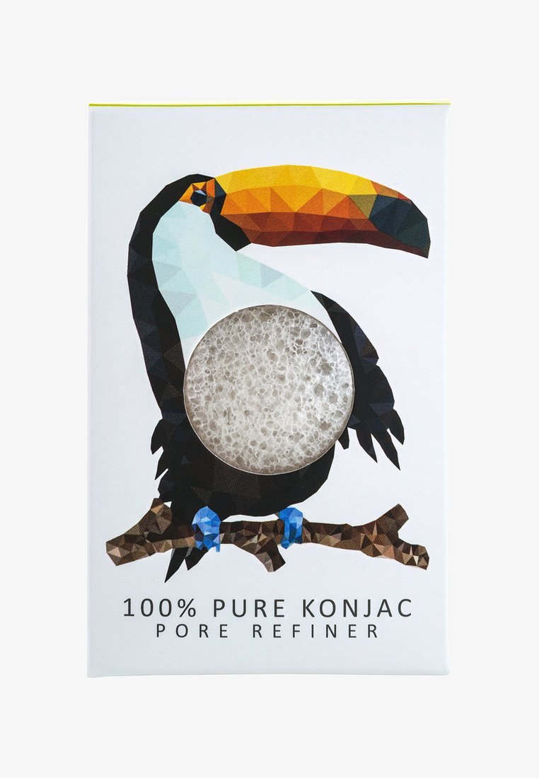 Konjac Sponge - MINI SPONGE GIFT BOX - Bath & body - pure/rainforest toucan