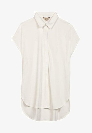 SVANIA MIT KURZEN ÄRMELN - Button-down blouse - white