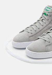 Puma - SUEDE MID XXI UNISEX - High-top trainers - quarry/white - 5