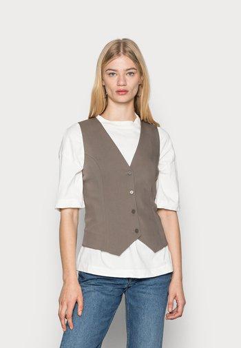 RORA VEST - Waistcoat - khaki
