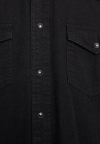 PULL&BEAR - Košile - black denim - 5