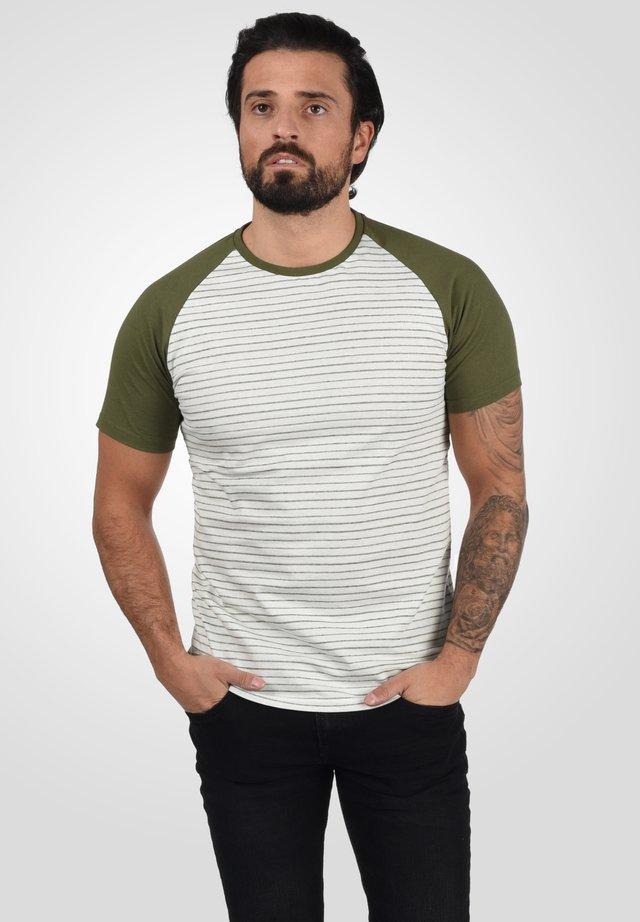 T-shirt print - dusty olive