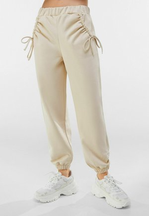 Tracksuit bottoms - nude