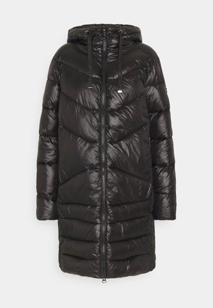 FUNCTIONAL FILLED COAT - Winter coat - black