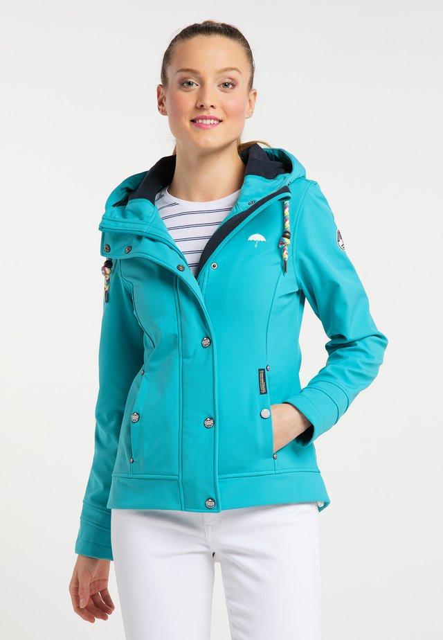 Outdoor jakke - turquoise