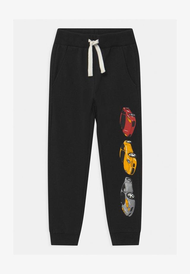 MINI VEHICLES - Pantaloni sportivi - off black