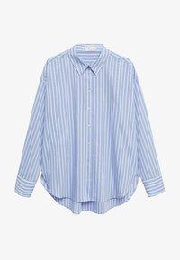 Mango - VERA-I - Button-down blouse - bleu - 5