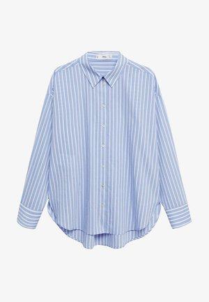 VERA-I - Button-down blouse - bleu