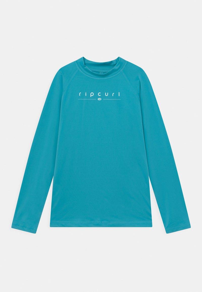 Rip Curl - GIRLS GOLDEN RAYS - Rash vest - light blue