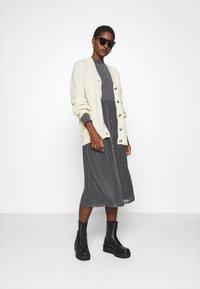 Zign - Day dress - black/white - 1