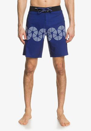 HIGHLINE CONNECTED WAVES  - Swimming shorts - tokolo indigo