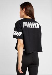 Puma - MODERN SPORT TEE - T-Shirt print - black - 2