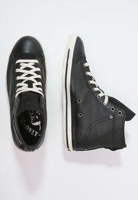 Diesel - EXPOSURE I - Zapatillas altas - black - 1