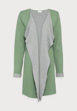 BARBRO  - Vest - hedge green/grey melange