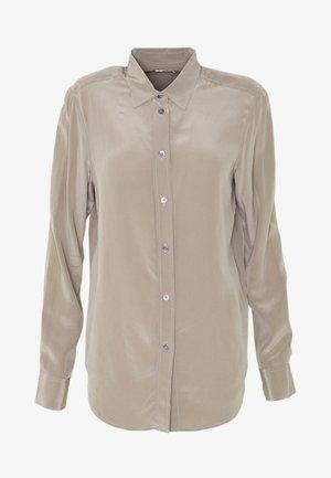 BLOUSE - Košile - grey taupe