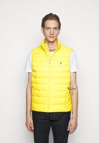 Polo Ralph Lauren - TERRA VEST - Waistcoat - yellowfin - 0