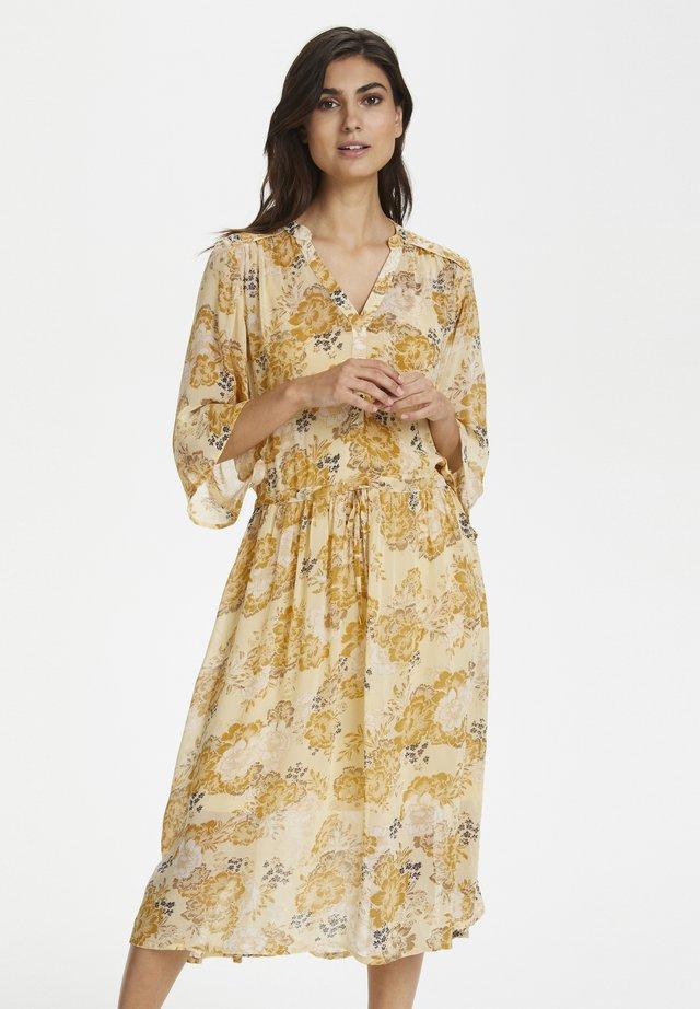 Robe chemise - yellow