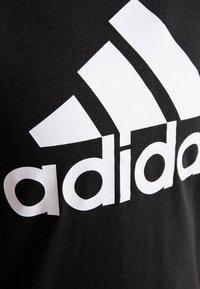 adidas Performance - W MH BOS TEE - Sports shirt - black - 5