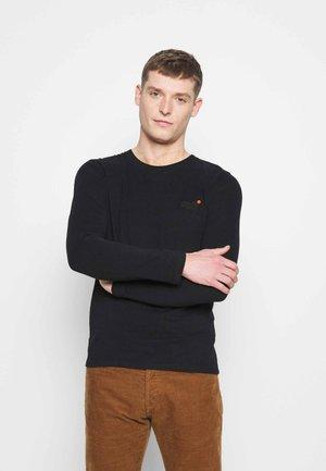 VINTAGE - Long sleeved top - black