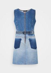 Desigual - Denimové šaty - blue - 4