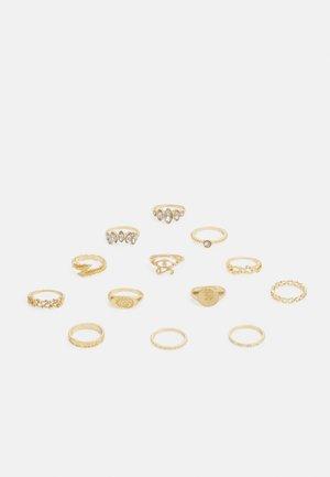 PCHUDA 13 PACK  - Ring - gold color