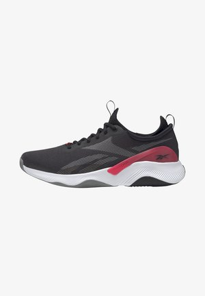 HIIT HIGH INTENSITY 2.0 LES MILLS FLOATRIDE ENERGY FOAM TRAINING WORKOUT - Sports shoes - core black/pure grey/neon cherry