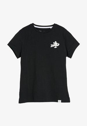 MICKEY  - Camiseta estampada - black out
