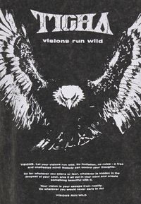 Tigha - WILD EAGLE WREN - Print T-shirt - vintage black - 3