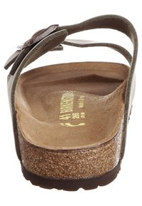 Birkenstock - ARIZONA NARROW FIT - Sandalias planas - stone - 1