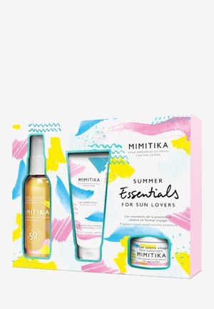 KIT SUMMER ESSENTIALS WITH BODY OIL SPF50 - Skincare set - -