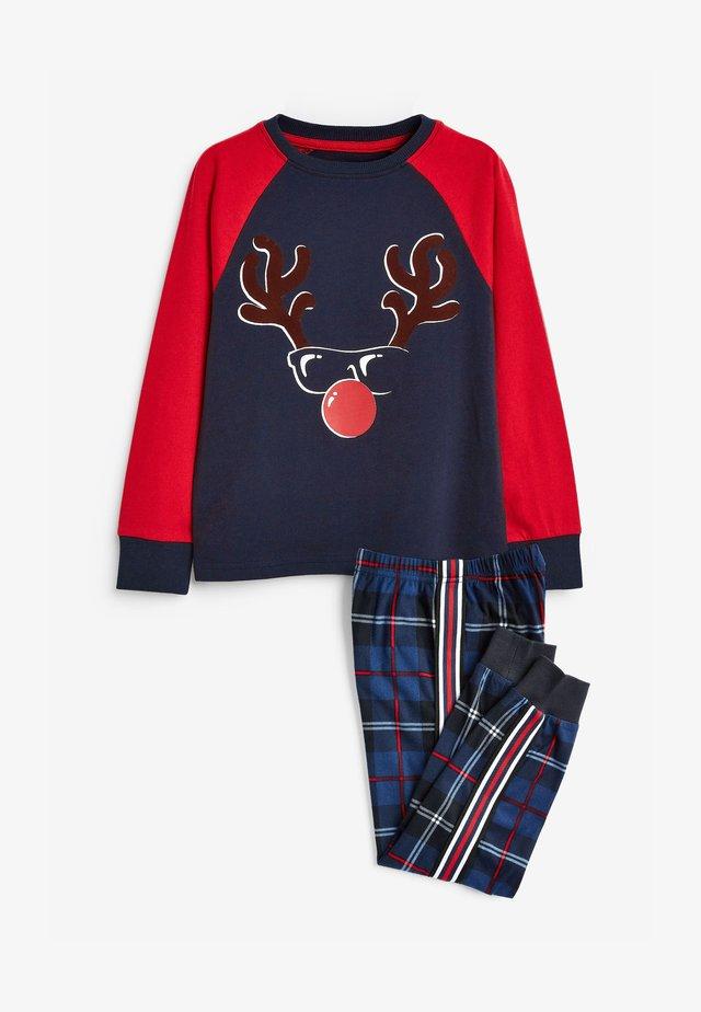 CHRISTMAS COSY - Pyjama set - blue