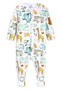 Next - THREE PACK - Sleep suit - white - 2