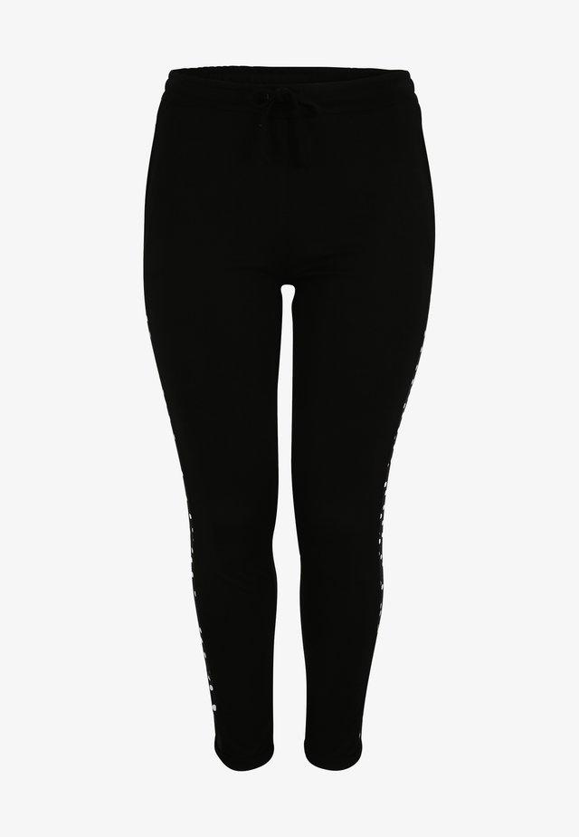 Legging - schwarz/weiß