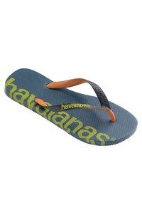 Havaianas - TOP LOGOMANIA HIGHTECH - Pool shoes - blue, green - 2