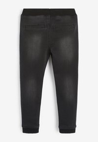 Next - SUPER  - Relaxed fit jeans - black denim - 1