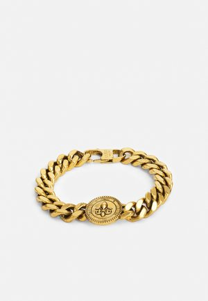 CURB GIGLIO DOTS UNISEX - Armbånd - antique gold-coloured
