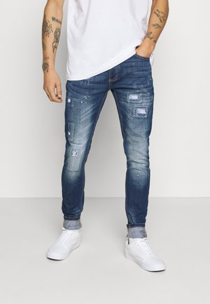 BRUNO - Jeansy Slim Fit - blue