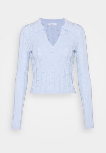 WITH LONG SLEEVES - Jumper - light blue
