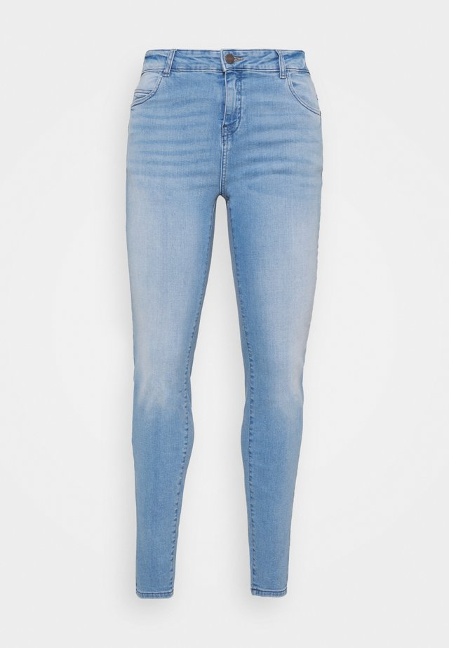 NMLUCY SKINNY  - Skinny džíny - light blue