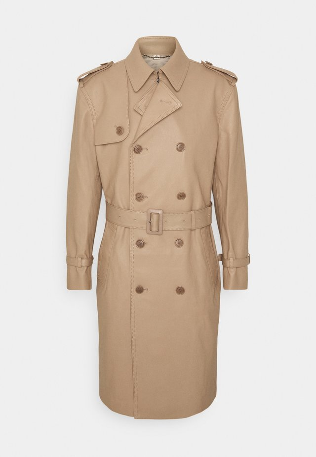 SPRING  - Trench - tan