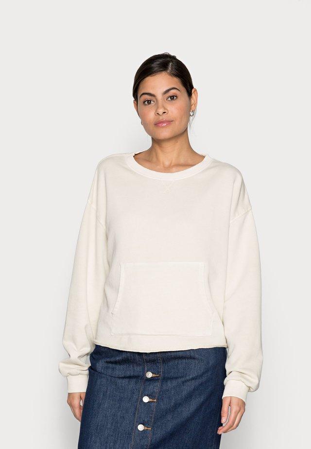Sweatshirt - unbleached