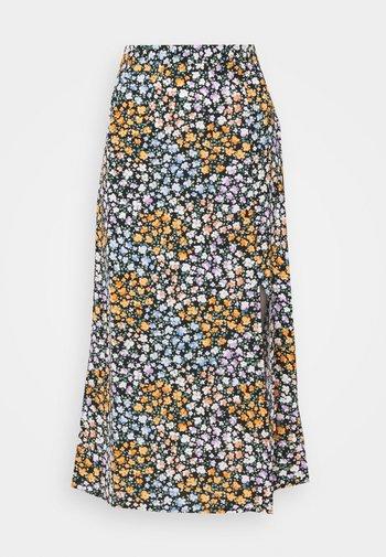 SLFMOXY  SKIRT - A-line skirt - black