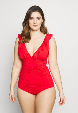 LINOSA - Swimsuit - grenadine