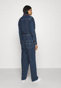 Tommy Jeans - ZIP BOILER SUIT - Jumpsuit - blue - 2