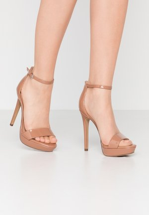 WESTKAAP - High heeled sandals - beige