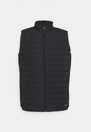 JJBASE LIGHT VEST - Waistcoat - black